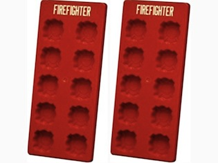 Firefighter Ice Cube Tray