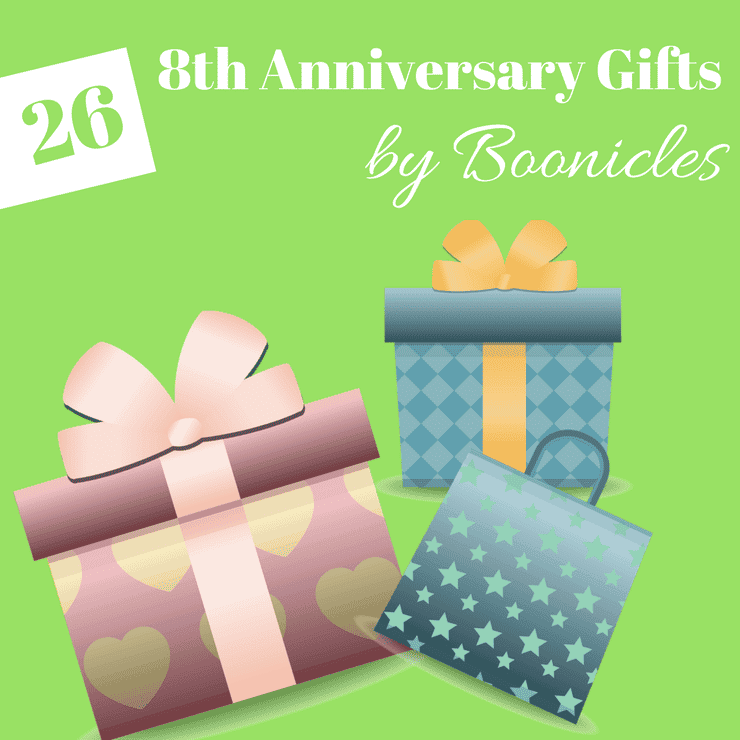 Bronze Anniversary Gifts For Him And Her 8th Wedding Year Boonicles